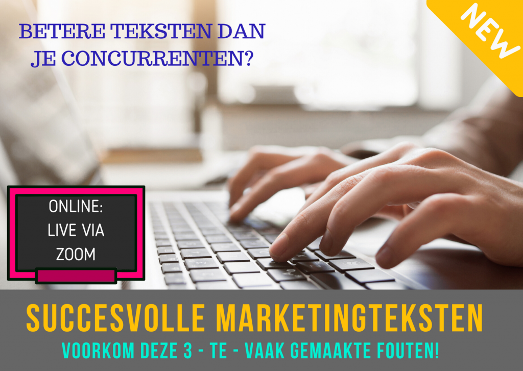 SUCCESVOLLE MARKETINGTEKSTEN