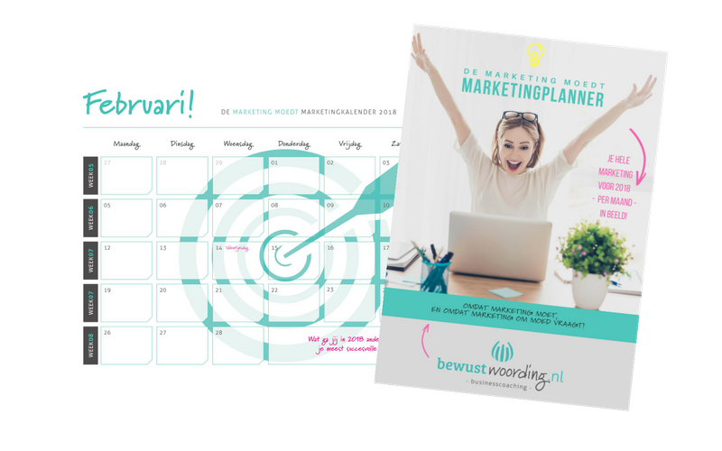 Marketing MOEDT Marketing Kalender 2018